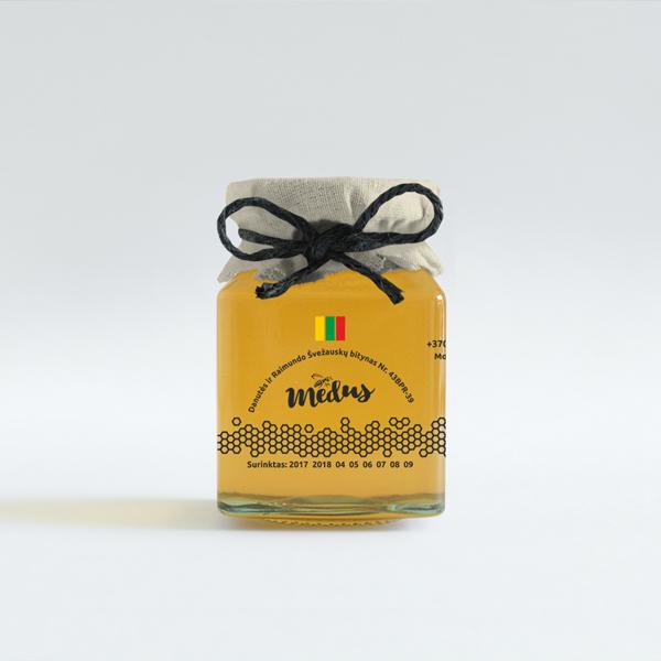 Medaus etiketė